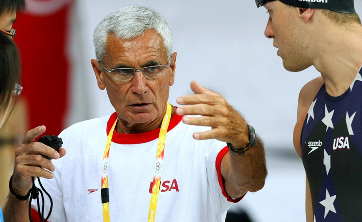 Legendary Coach Jon Urbanchek Honored at USA Swimming Convention