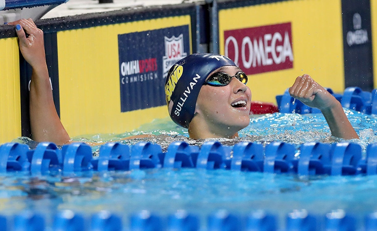 Sullivan Breaks Pool Record on First Night of TYR Pro Swim in Knoxville