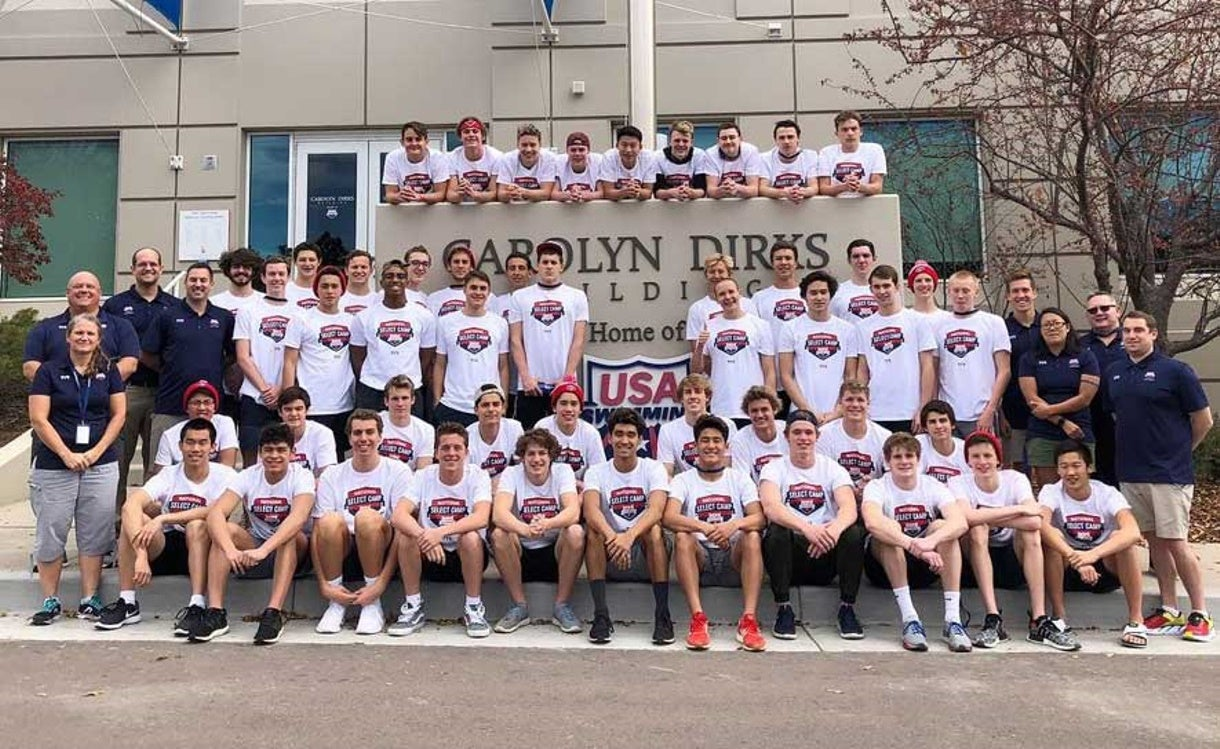 National Select Camp Motivates and Challenges Swimmers for the Next Level