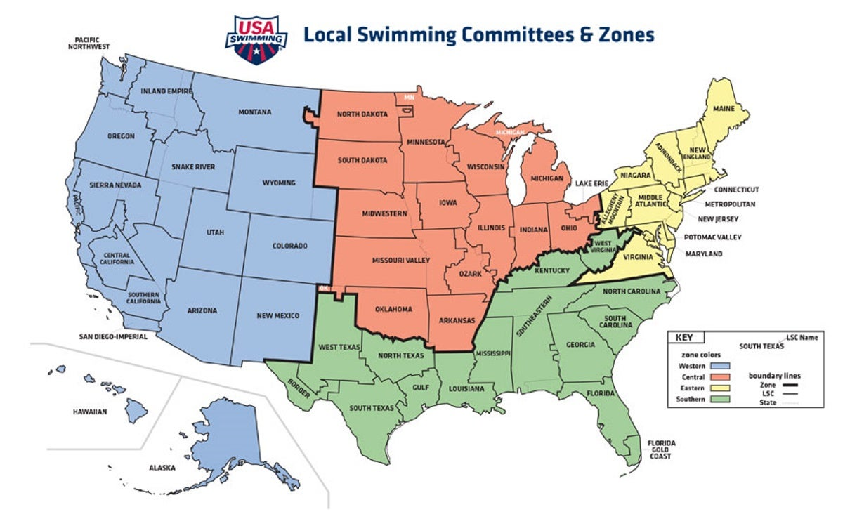 LSC Websites and Zone Map