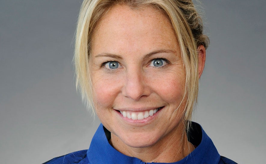2016 Olympic Open Water Head Coach Catherine Vogt.