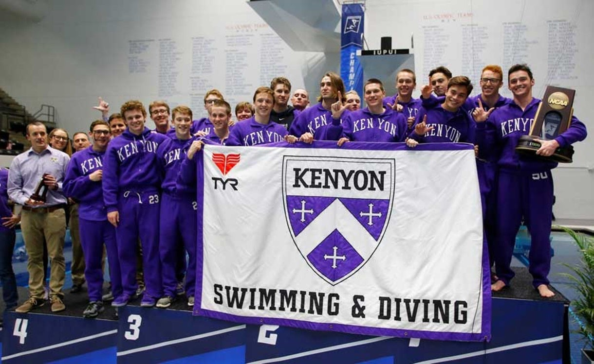 Kenyon Legacy an Enduring Dynasty in Division III Swimming