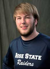 Greyson Wolf, founder of College Club swimming at Rose State College.