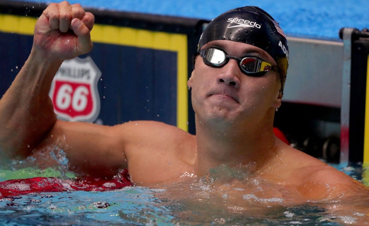 Nathan Adrian Continues to Train with Eyes on Fourth Olympic Games
