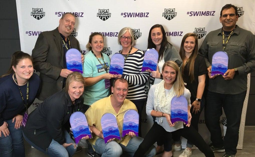 Eight Teams Receive #SwimBiz Marketing Award Honors