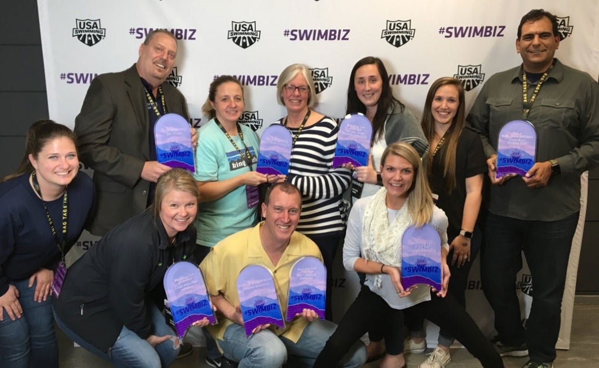 Eight Teams Receive #SwimBiz Marketing Award Honors