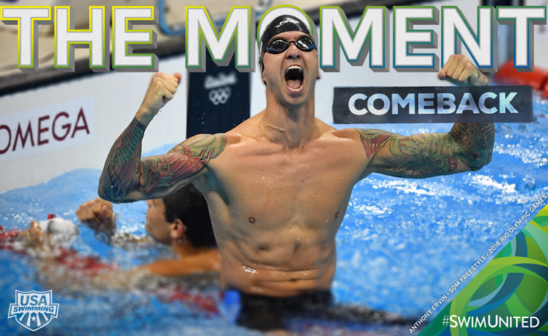Anthony Ervin Rio Moments