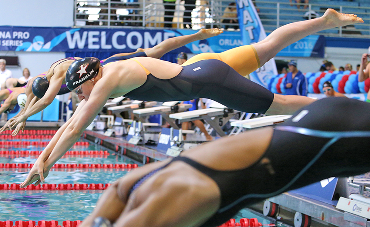Franklin, Adrian Victorious at Arena Pro Swim Series at Orlando