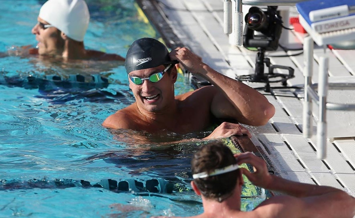 Can't Miss Race of the arena Pro Swim Series at Mesa