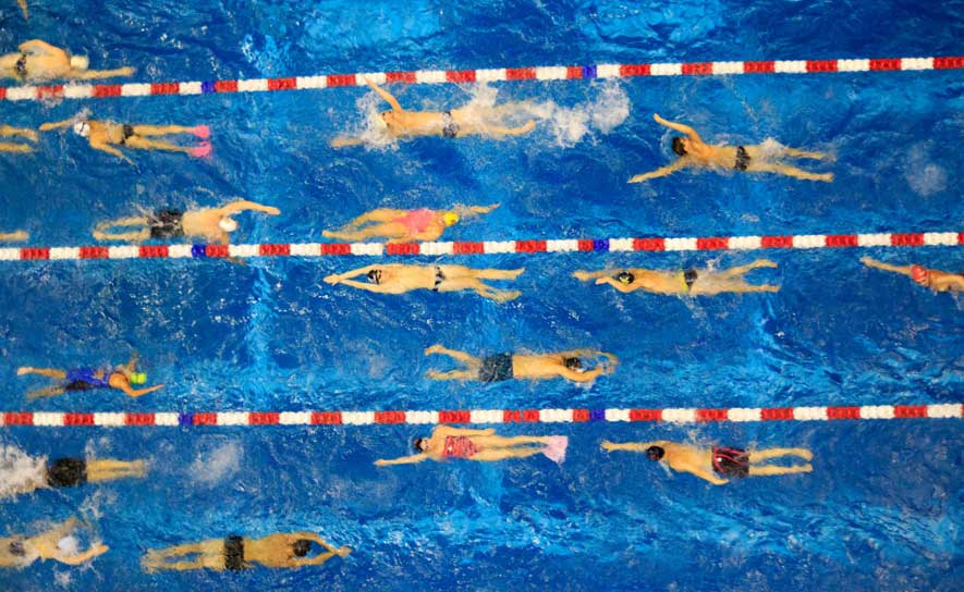 Swimming Should Be a TV Show