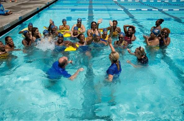 Coaches splash Swim 1922 Clinic