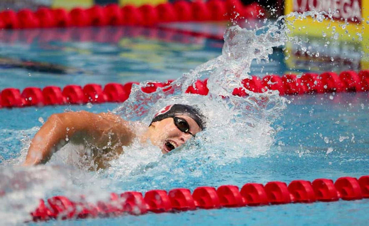 Ledecky, Smith Finish 1-2 for Second Night in a Row
