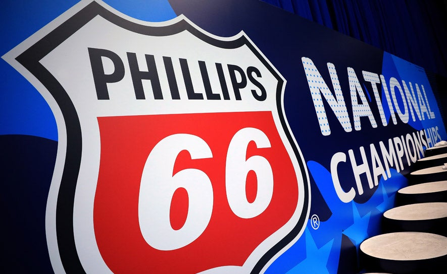 Phillips 66 National Championships signage