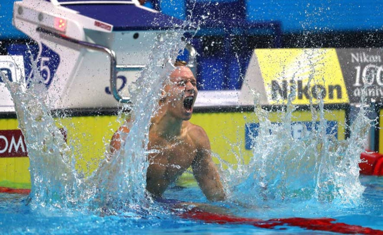 Caeleb Dressel on Fire at Worlds, Wins Gold, Sets AR in 100 Free