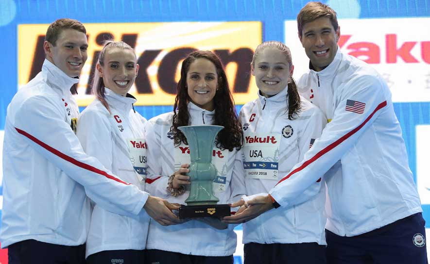 Team USA takes the title at 2018 Short Course Worlds.