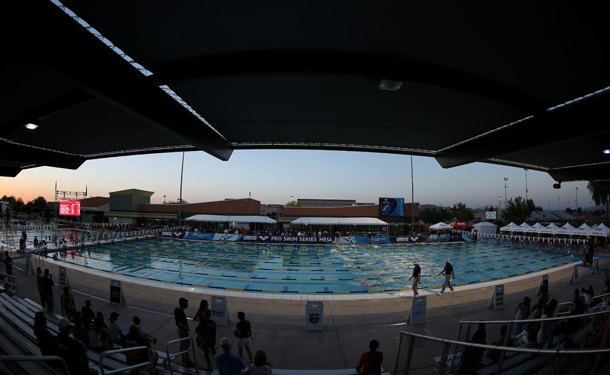 A look inside the Skyline Aquatic Center in Mesa