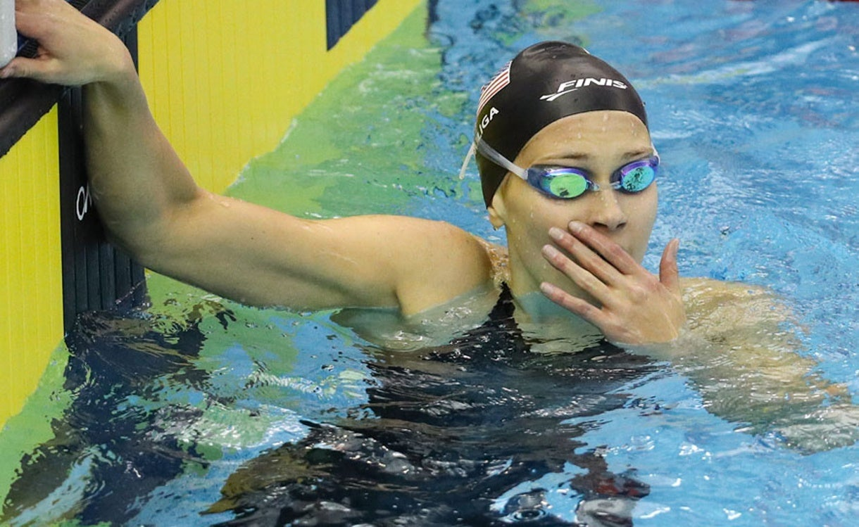 Olivia Smoliga Continues to Want More from Swimming