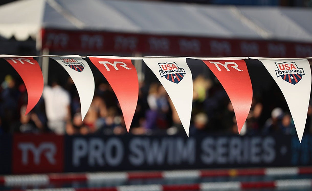 TYR Pro Swim Series at Richmond TV/Webcast Schedule