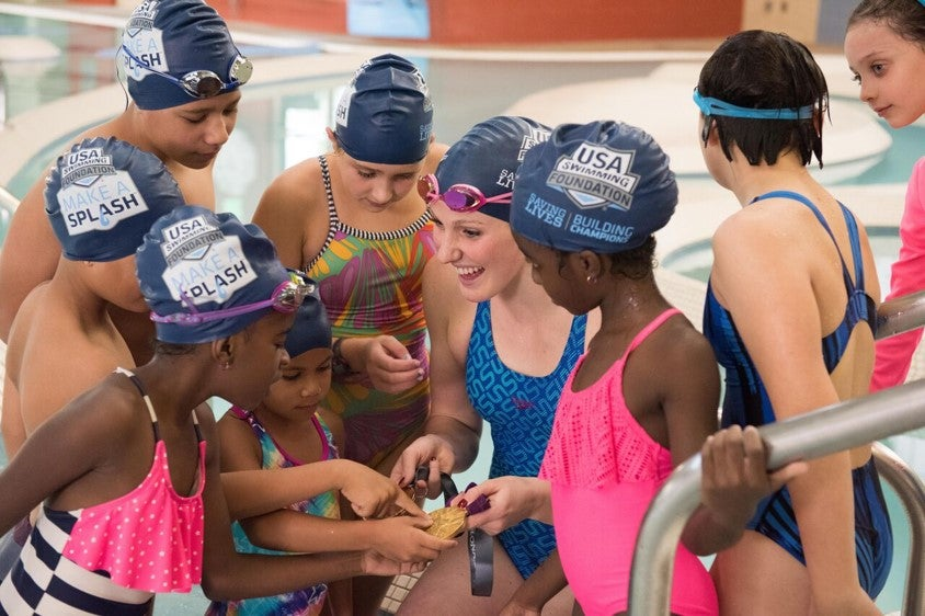 USA Swimming Foundation Surpasses 5 Million Children Served with Swim Lessons Through Make a Splash