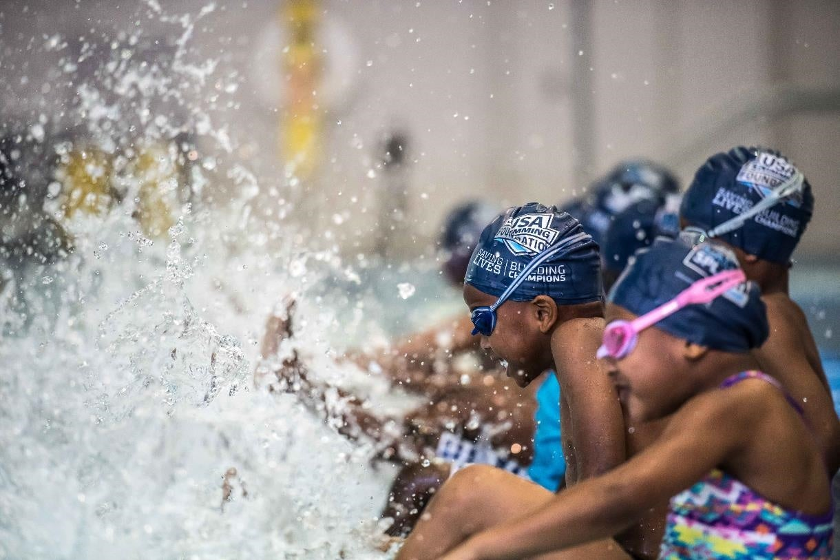 USA Swimming Foundation Awards Over $436,000   in 2018 Grant Funding for Make a Splash Local Partners