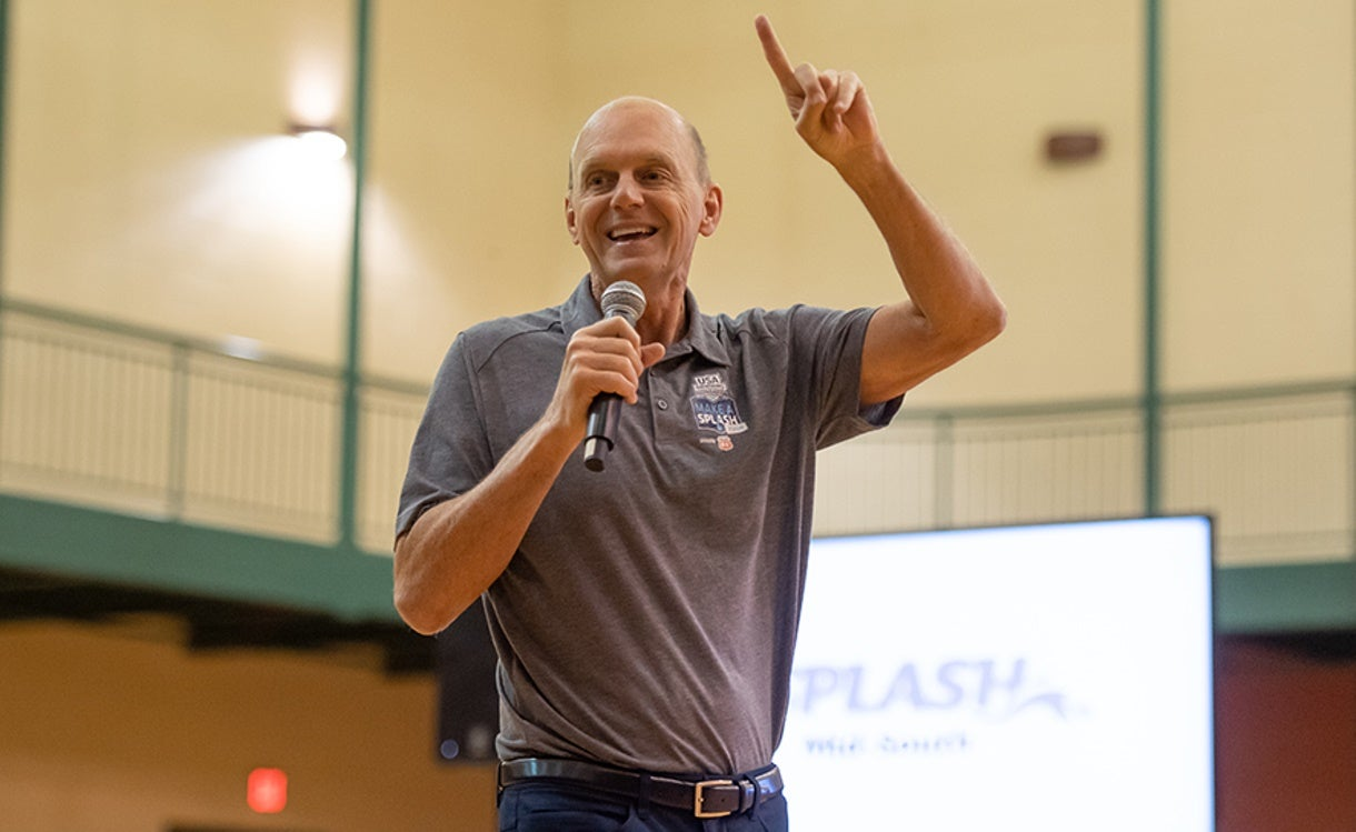 USA Swimming Enhances Community Outreach with Addition of  Olympic Legend Rowdy Gaines