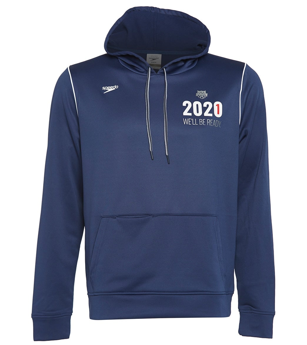 The Speedo USA Swimming Unisex 2021 We'll Be Ready Zip Pullover Sweatshirt is part of USA Swimming's Special Collection: '2021 We ll be Ready'. All proceeds from the sale of this product will go to support U.S. National Team athletes in their continued preparation for the Olympic Games in Tokyo in 2021. Your support is incredibly appreciated.|https://www.swimoutlet.com/p/speedo-usa-swimming-unisex-2021-well-be-ready-pull-over-hoodie-sweatshirt-8197133/?color=10890|0|stt9