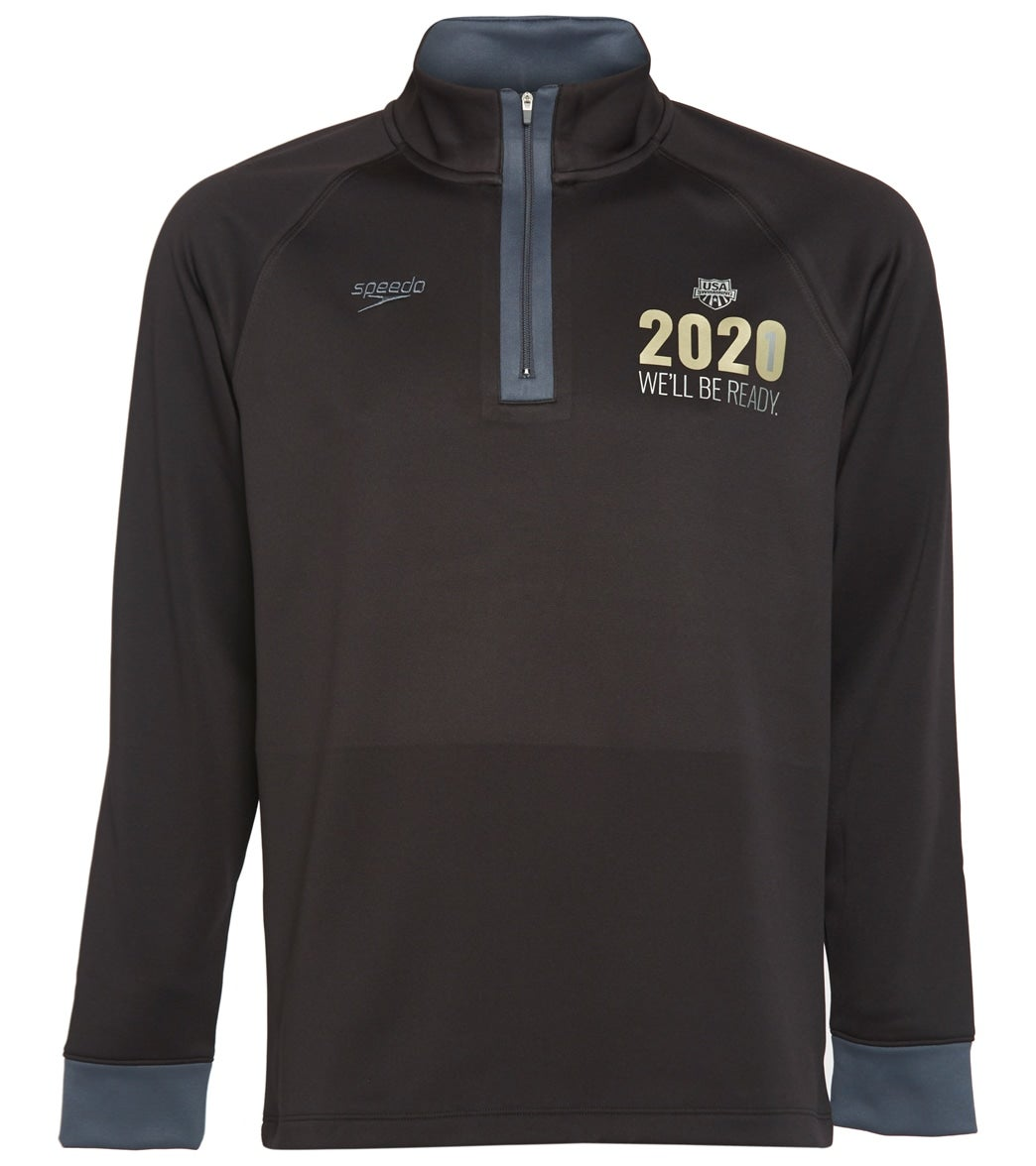 The Speedo USA Swimming Unisex 2021 We Will Be Ready Pull Over Hoodie Sweatshirt is part of USA Swimming's Special Collection: '2021 We ll be Ready'. All proceeds from the sale of this product will go to support U.S. National Team athletes in their continued preparation for the Olympic Games in Tokyo in 2021. Your support is incredibly appreciated.|https://www.swimoutlet.com/p/speedo-usa-swimming-unisex-2021-well-be-ready-pull-over-hoodie-sweatshirt-8197133/?color=10890|0|stt8