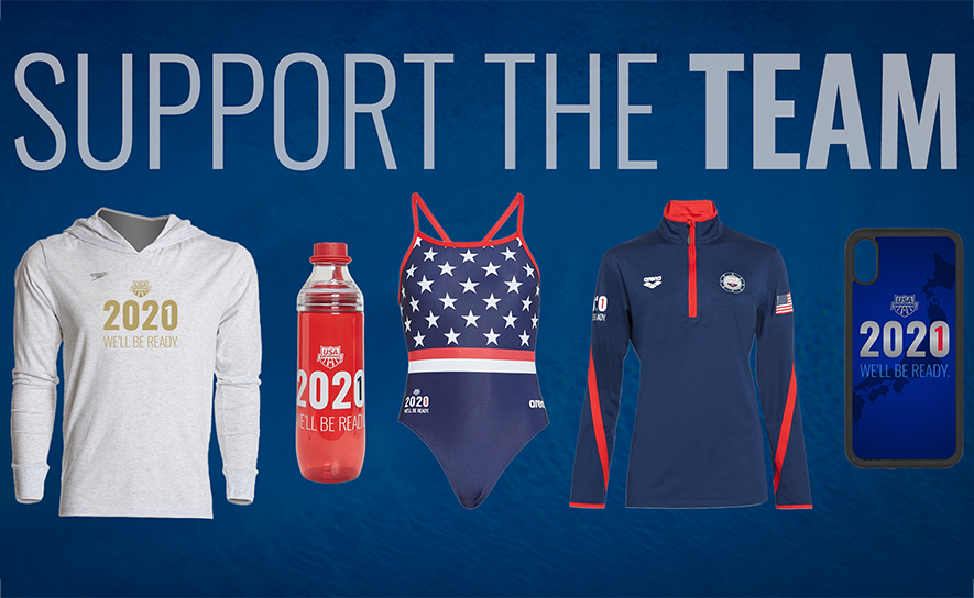 Merchandise to Benefit USA Swimming National Team on Sale Today