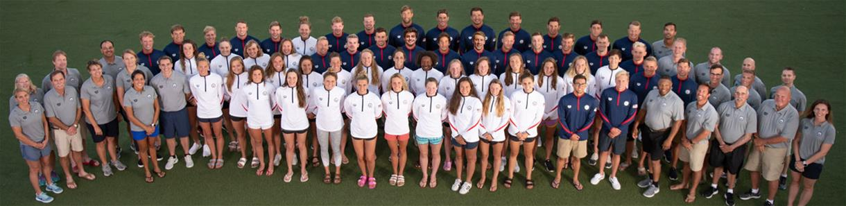 Photo of the 2018 Pan Pacific Championships Team