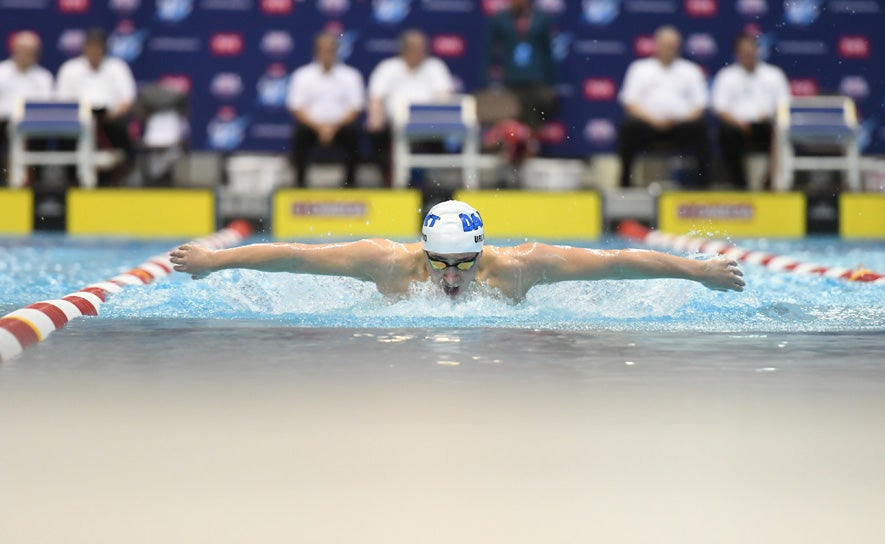 Gianluca Urlando at TYR Pro Swim Series Knoxville