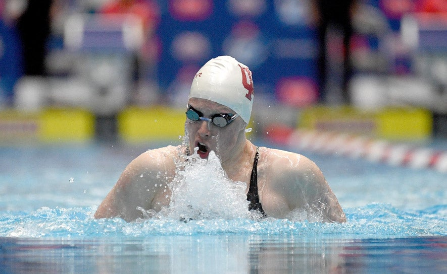 Lilly King 100m breaststroke