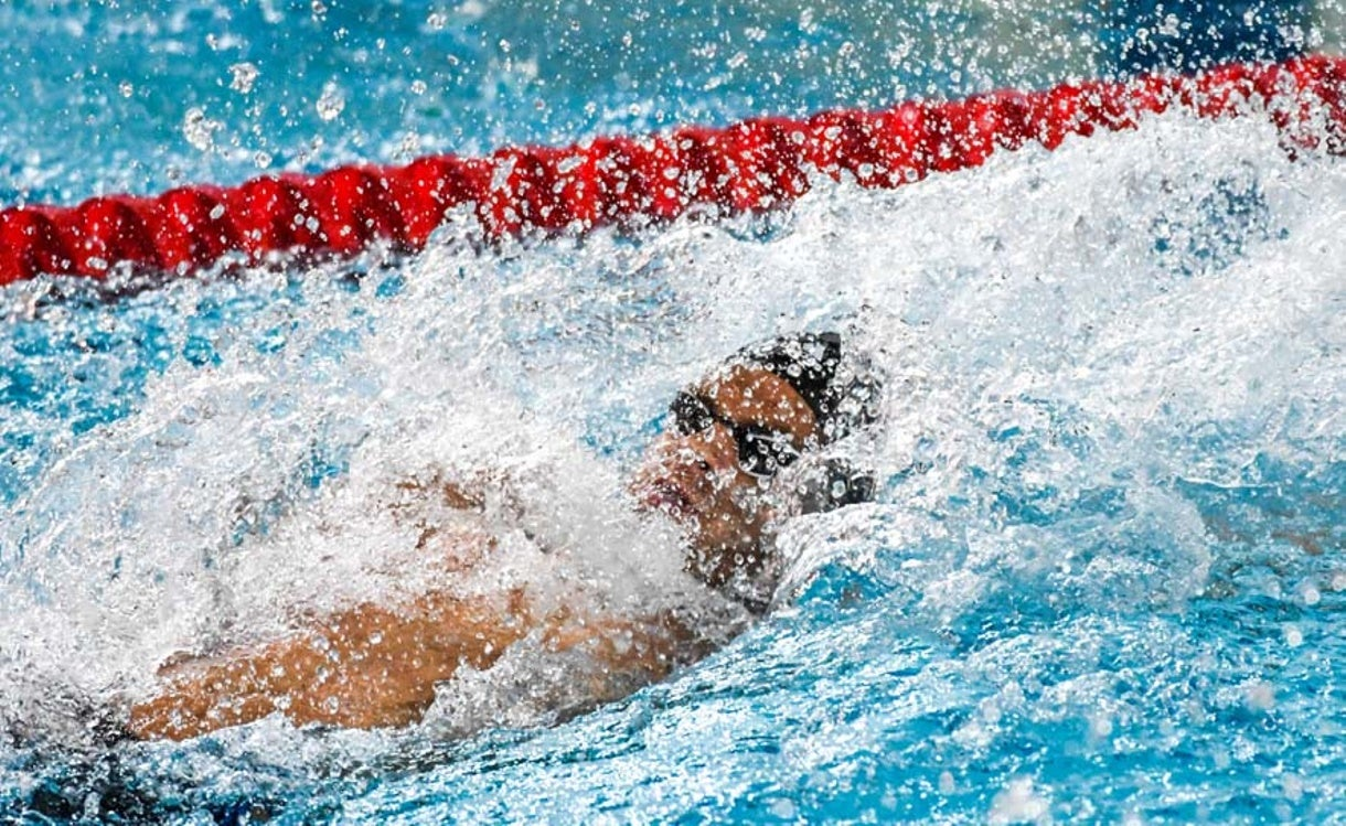 Michael Andrew sets Meet Record at Mare Nostrum in Monaco