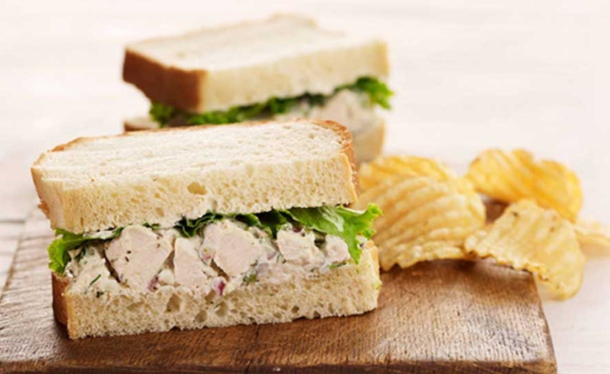 Chobani Recipe: Chicken Salad Sandwich
