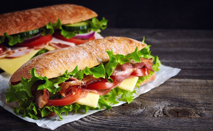 Photo of a Sub Sandwich
