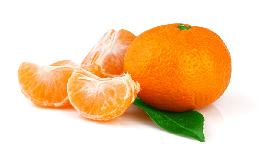 An illustration of tangerines.