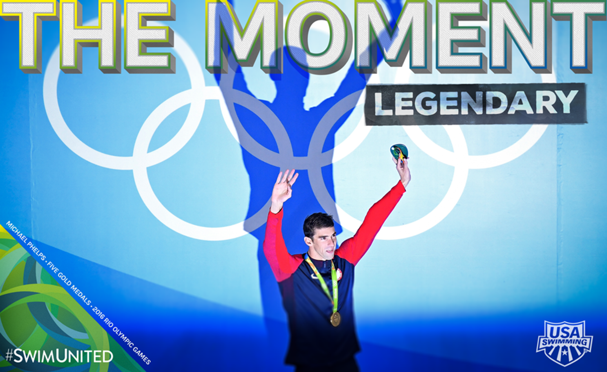 The Moment: Michael Phelps Cements His Legacy - As a Teammate