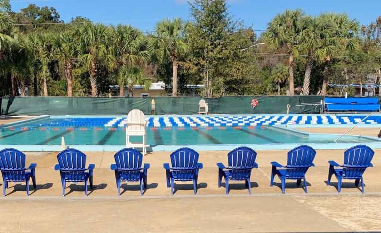 Competitor in the Community: Lane Lines Donation Breathes Life into Community Pools
