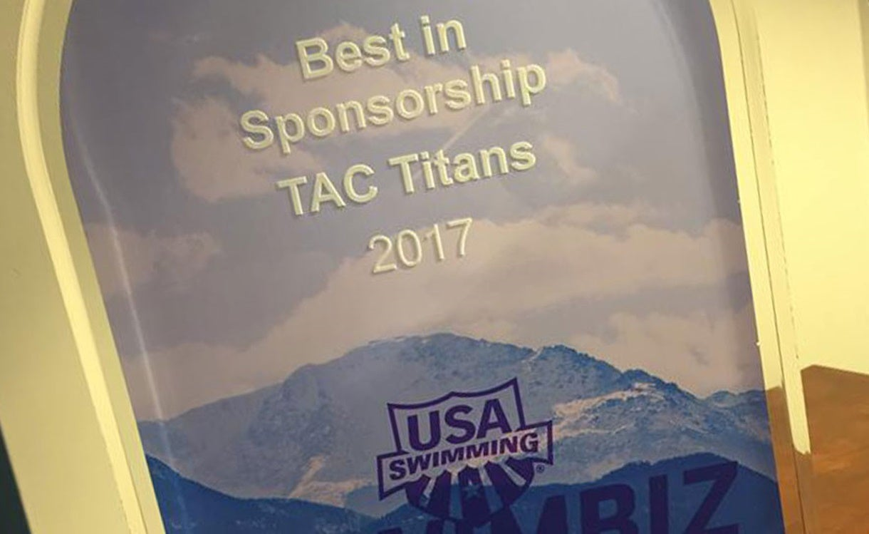 TAC Titans Rode Proven Sponsorship Strategy to #SwimBiz Marketing Award in 2018