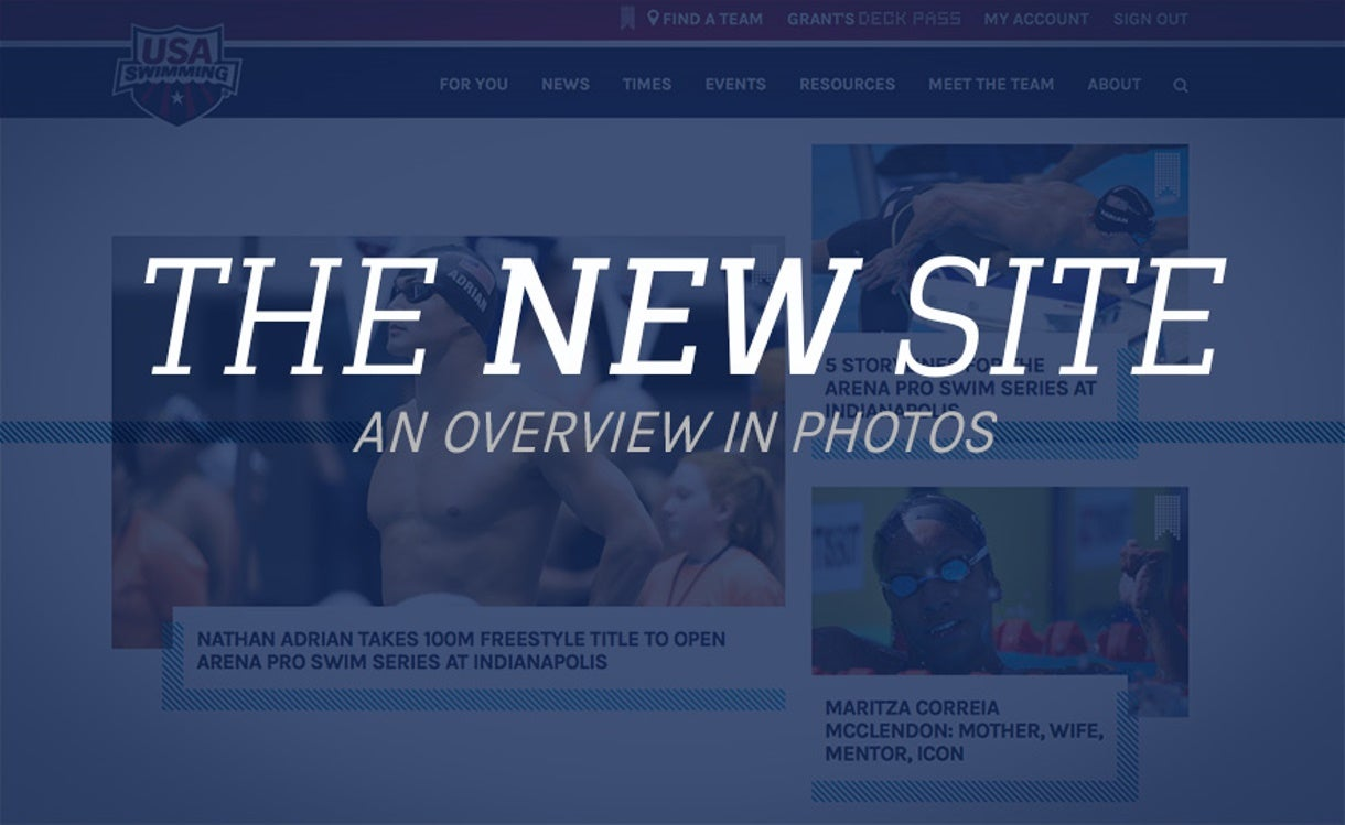 Welcome to the New USA Swimming.org